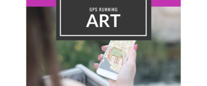 gps running art
