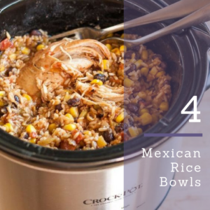 Mexdican Rice Bowls recipe