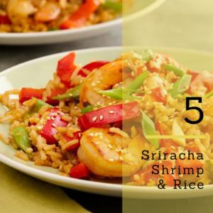 sriracha chicken & rice recipe