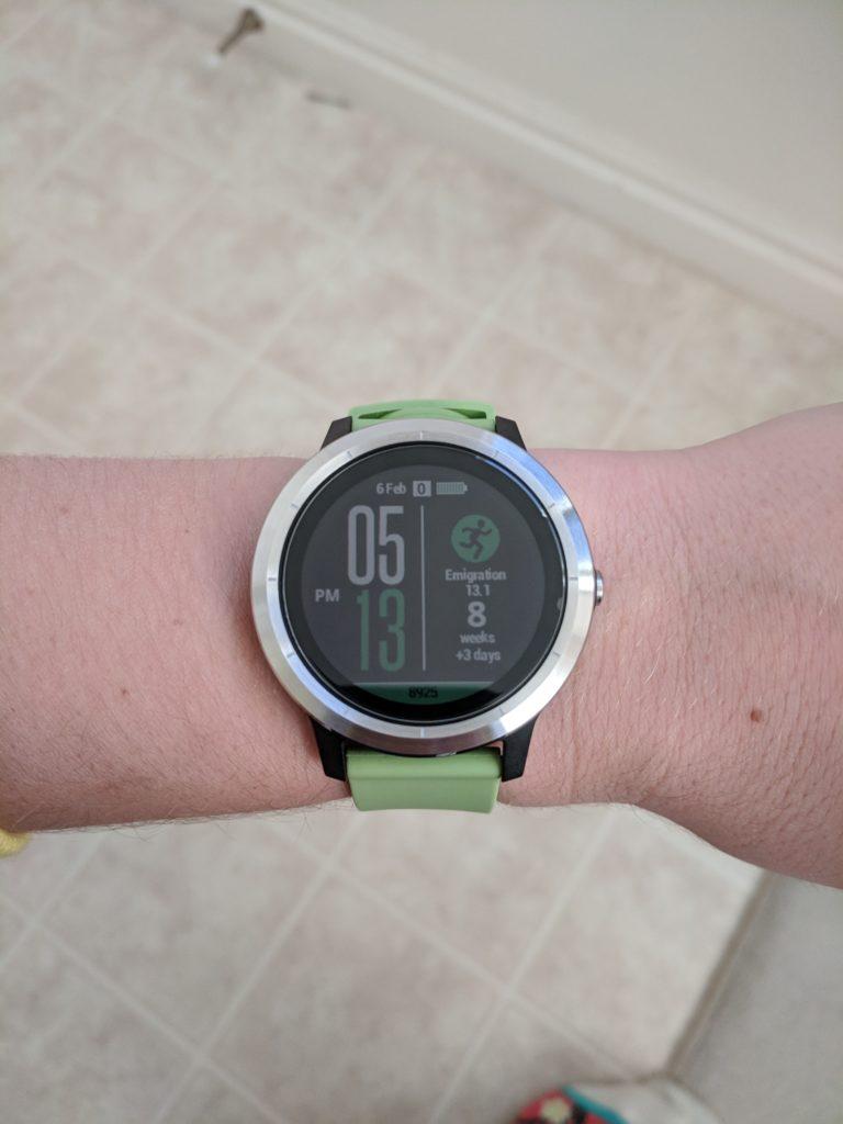 Garmin Vivoactive 3 GPS running watch