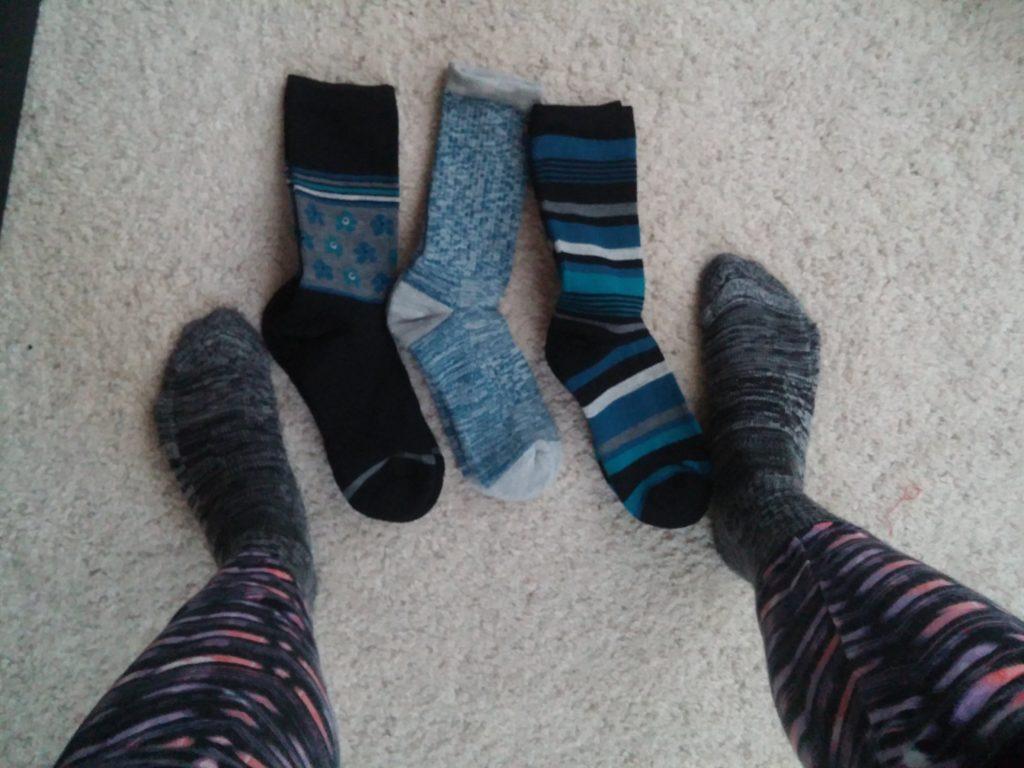 wool trail socks