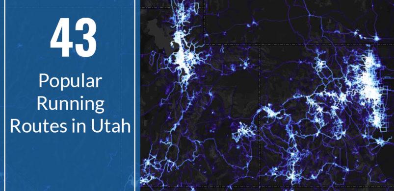 43 Popular Running Routes in Utah
